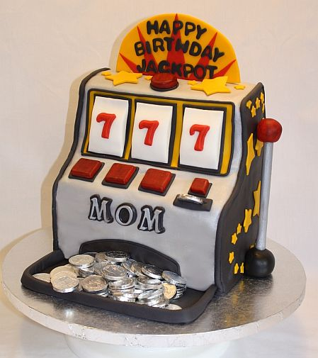 Slot Machine Cake - Images, Ideas, and Recipes