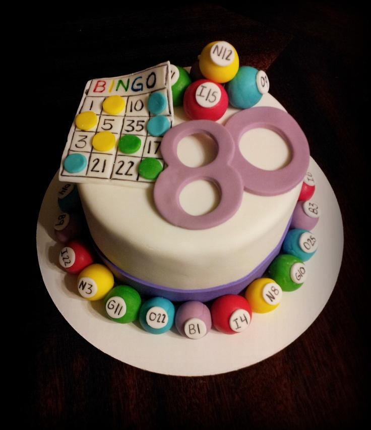 Bingo Birthday Cake Ideas