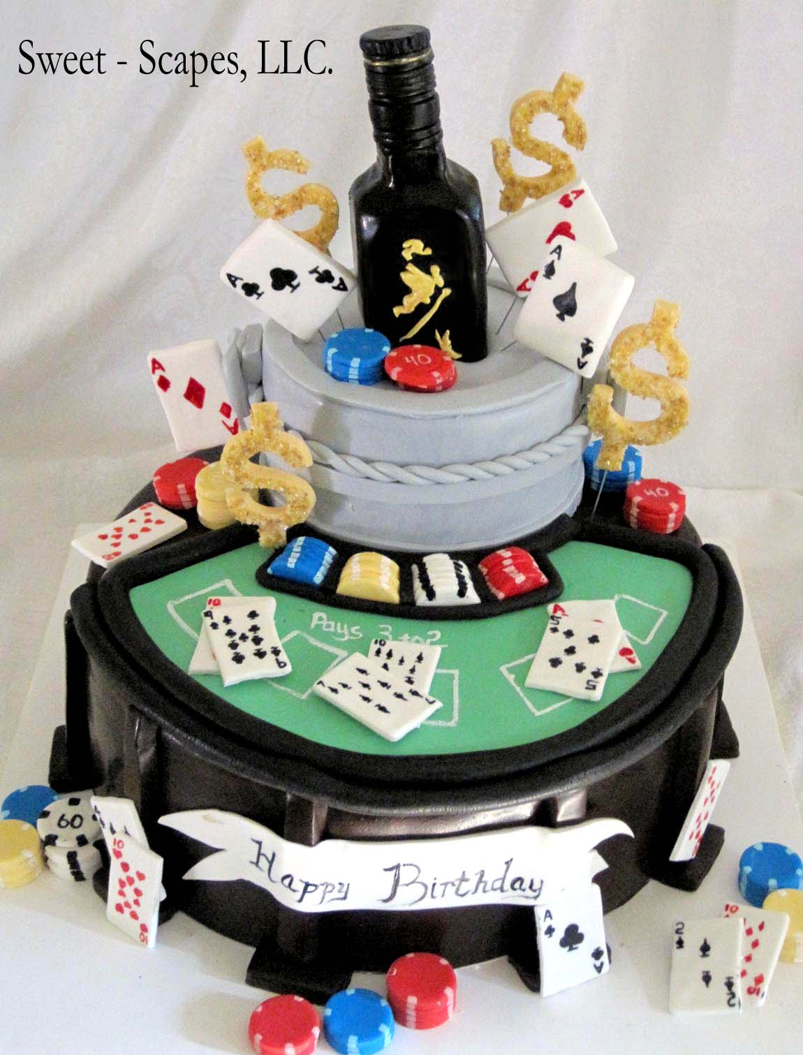 Casino Cakes 30 Awesome Gambling Cakes To Die For
