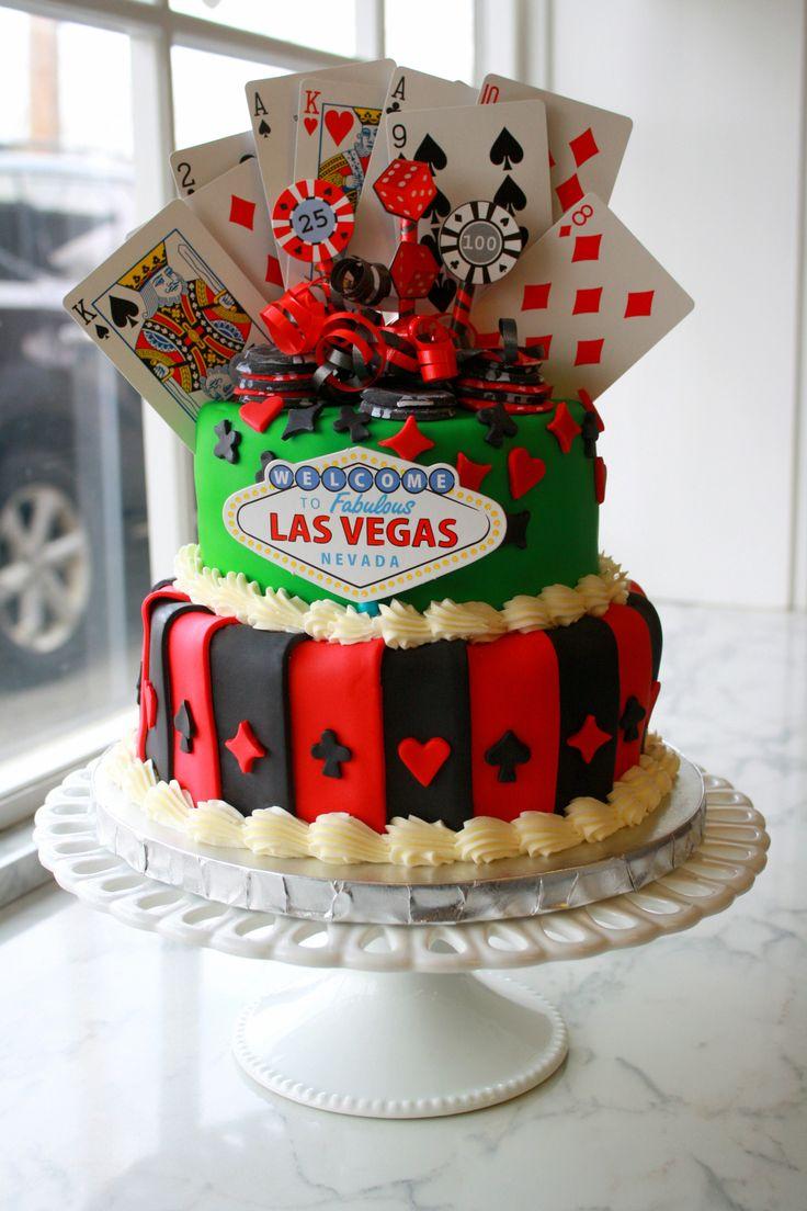 Casino Style Cake Decorations
